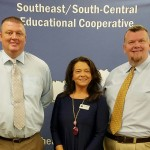 SESC Welcomes New Superintendents At its meeting on August 11, 2016, the SESC Board of Directors welcomed new superintendents Michael Rowe of Lincoln County Schools, Kay Dixon of Barbourville Independent Schools, and Dr. Amon Couch of Williamsburg Independent Schools. The superintendents will now serve as members of SESC's decision-making board.