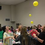 SESC provides professional learning opportunities for teachers, administrators, and support staff in preschool through grade 12. On July 31, 2017, hundreds of preschool staff from across the region participated in an active instructional training provided by national expert Dr. Jean Feldman.